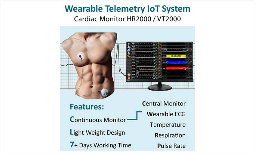 HR2000-Wearable Telemetry IoT System