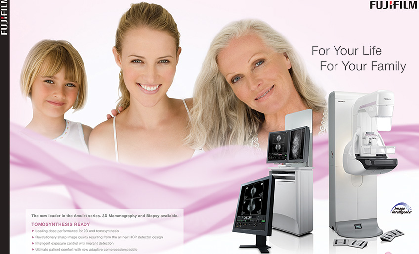 Fujifilm Amulet Innovality Digital Mammography: Lasting smiles for women worldwide